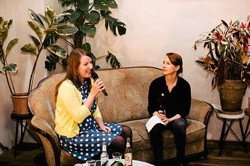 Expert interview during a Pinterest tastemaker workshop about how brands and influencers can work together on Pinterest. // Photo from Pinterest Workshop collection by www.ohhedwig.com
