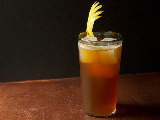 Zucca Sprezzatura (Amaro and Scotch Highball)