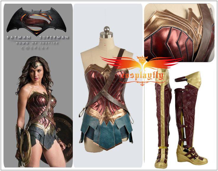 Tamaño personalizado V Batman Superman Mujer Maravilla Diana Prince Cosplay Disfraz Zapatos | Ropa, calzado y accesorios, Disfraces, teatro, representación, Disfraces | eBay!
