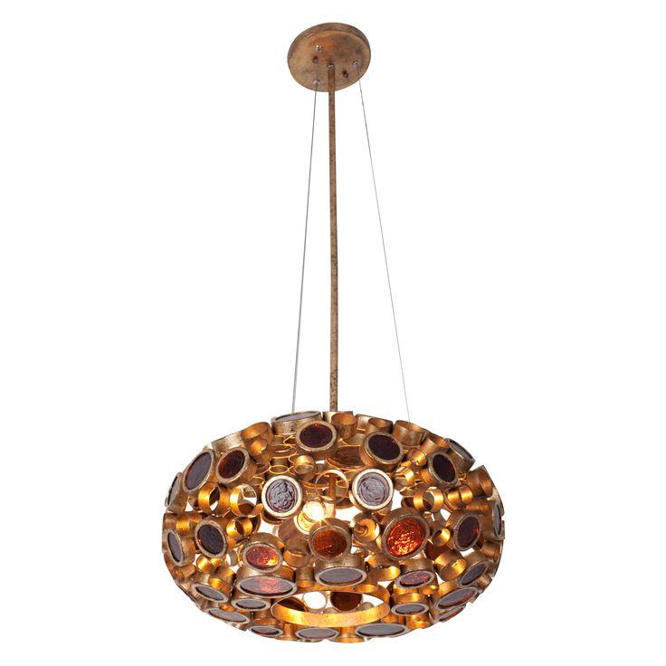 Varaluz Fascination 3-Light Pendant - 18W in. Kolorado - 165C03SKO