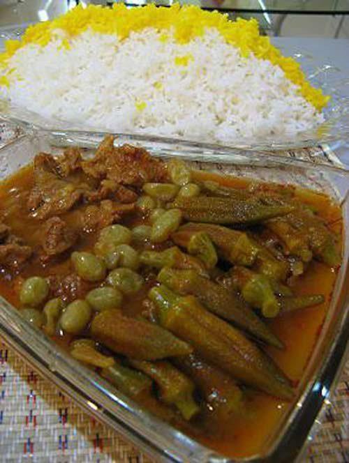 Iranian Food Khoresht Bameyeh