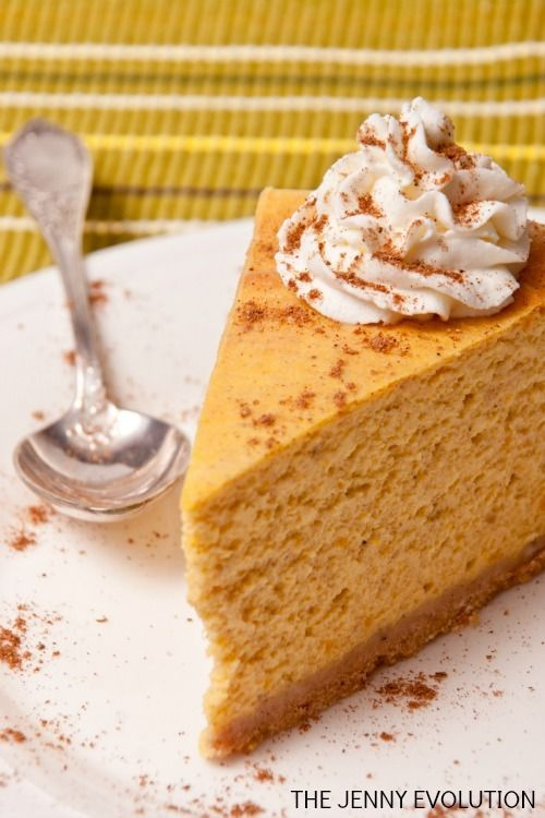CHEESECAKE FACTORY PUMPKIN CHEESECAKE COPYCAT RECIPE | The Jenny Evolution
