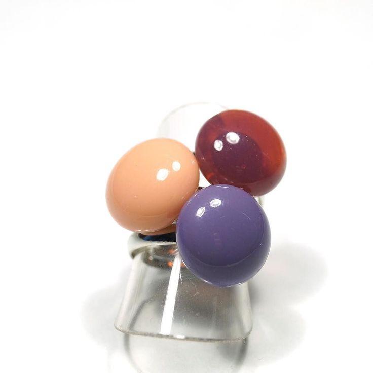 Simple mini rings #mitvegyekfel mitvegyekfel #jewerly  #fusingglass #nyiriandrea #ring #ootd #jewelrydesigner