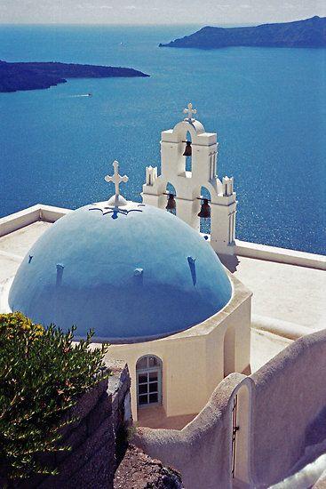 The Blue Dome, Santorini