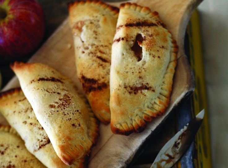 """Empanadas de Manzana""....Apple Turnovers...Reprinted with permission from Muy Bueno: Three Generations of Authentic Mexican Flavor"