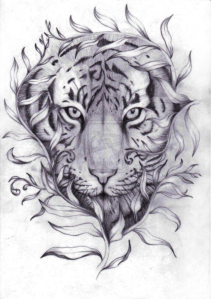 17 Ideen zu Tiger Tattoo Design auf Pinterest | Tiger tattoo Tattoo ...