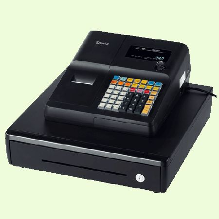 The SAM4S ER-260RALB is a basic Cash Register solution for a wide range of smaller retail environments. Basic yet very powerful with many features seen in higher end machines. It has a raised Keyboard and Thermal Printer.