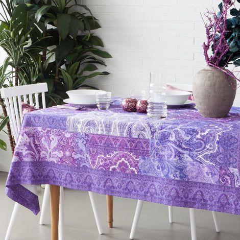 Uzbek-Print Tablecloth - Tablecloths & Napkins - Tableware | Zara Home United States of America