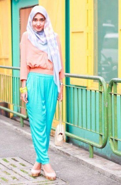 Tutorial Hijab By Mayra Hijab: Tutorial Hijab Segi Empat Modern Untuk Berbagai Ac...