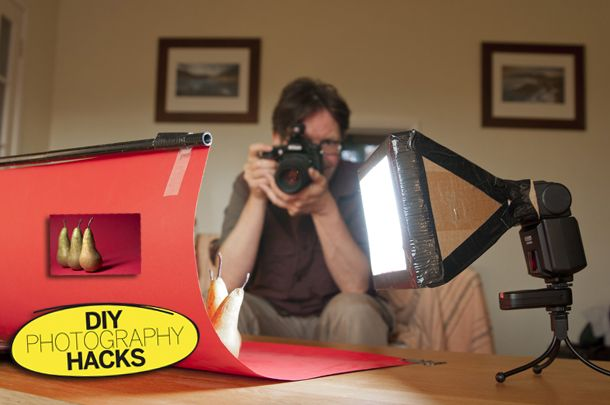 DIY Photography Hacks: how to make a flash diffuser from cardboard