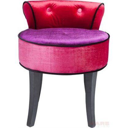 kolorowa pufka do salonu, przedpokoju czy sypialni