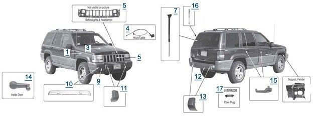 Great 1997 Jeep Grand Cherokee Parts