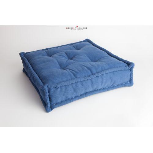 Cuscino Materasso Serie Mono - Blu