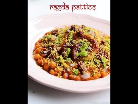 Ragda pattice   Ragda patties recipe   Rak's Kitchen