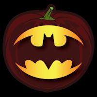 Batman Logo Co Stoneykins Pumpkin Carving Patterns And