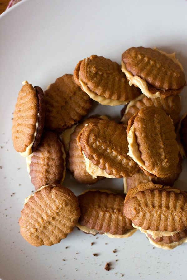 Coffee Cookies - traditional cookies with a coffee flavour www.aninas-recipes.com