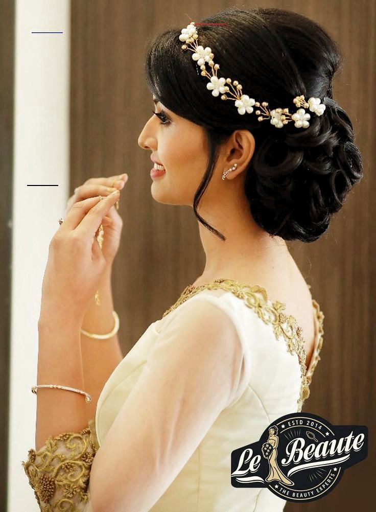 Hairstyle On Gown Indian Indian Wedding Hairstyles Indian Bun Hairstyles Hairstyles For Gowns