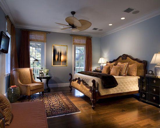 Traditional Blue Bedroom Designs