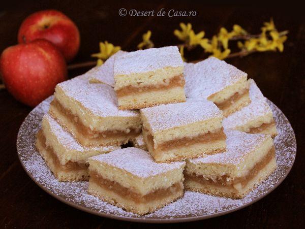 prajitura frageda de post cu mere