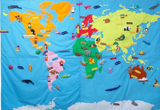 Conran world map
