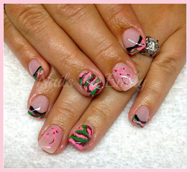 Camo & Browning Nails