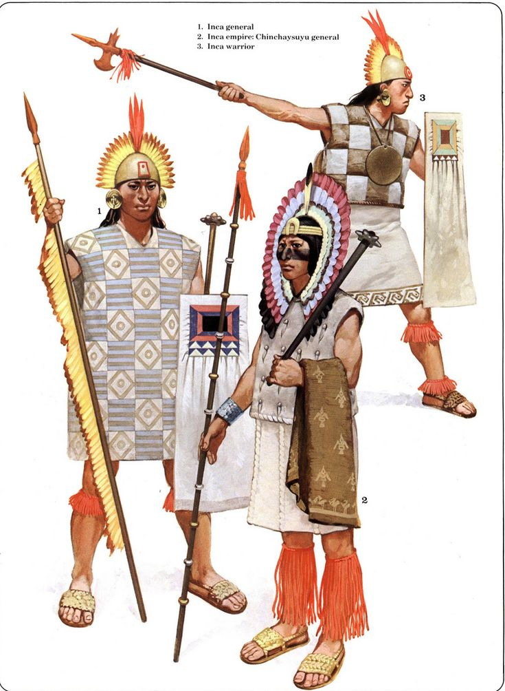 warriors of the Inca Empire