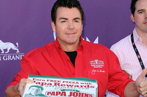 Papa John Is Suing Papa John S After He Resigned For Using The N Word Papa Johns Papa John S John Schnatter