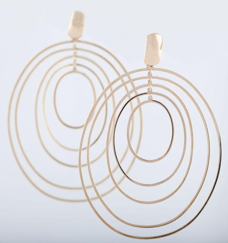 Ovale in oro rosa #collezionemovimenti #mariaclaudia #gioielli