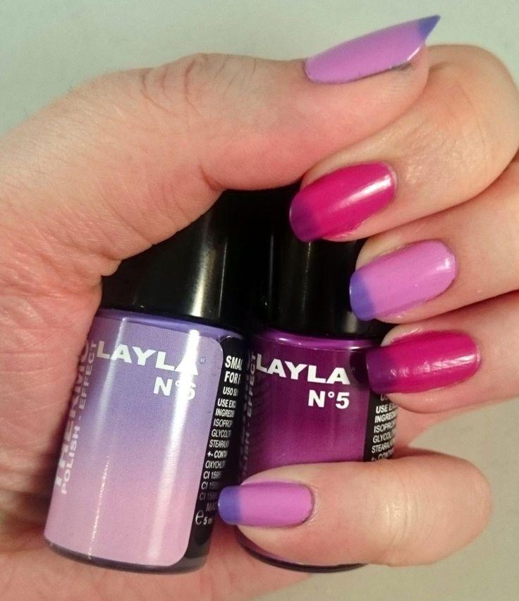 #Layla #Thermo #Nagellack #lila