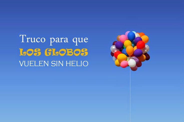 Truco lowcost para que los globos vuelen sin usar helio   DEF DEco - Decorar en familia