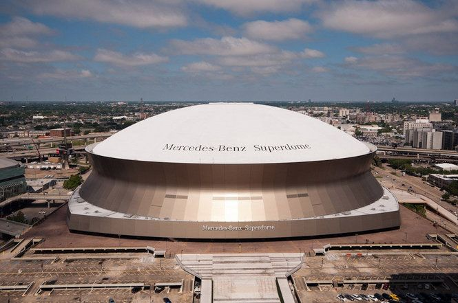 The mercedes benz superdome as shown in 39 wallpaper city for Mercedes benz dome