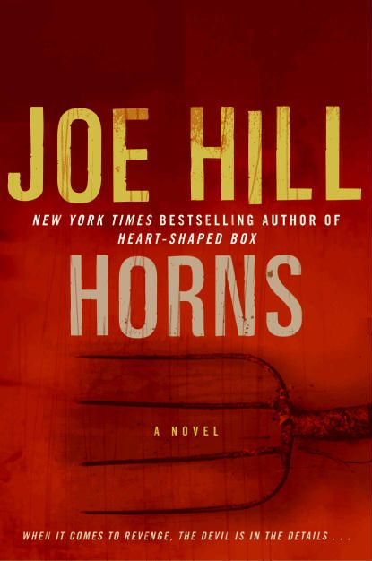 Horns by Joe Hill. I really liked this book but it can be a bit shocking at some points.
