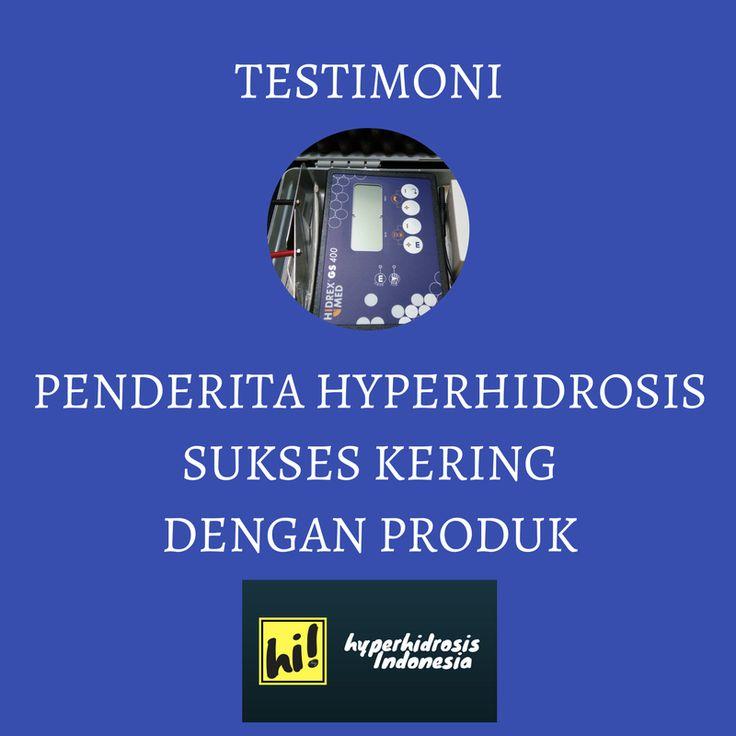 Testimoni Penderita Hyperhidrosis Indonesia Yang Sukses Kering Dengan Produk IHHC