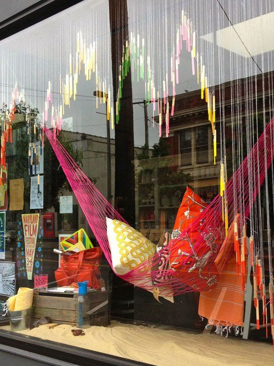 Creative Inspiration: Trohv Window Display | Apartment Therapy