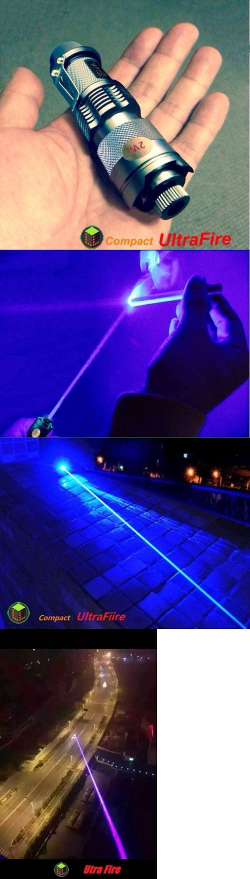 Laser Pointers: Military High Power 2W 450Nm Blue Purple Laser Pointer Pen Cigars Lighter Usa -> BUY IT NOW ONLY: $230 on eBay!