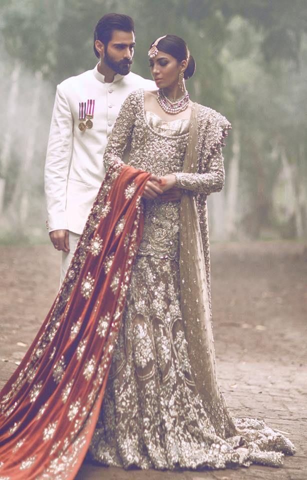 Pakistani Designer: The Jasmine Court by ElanPhotographer: Abdullah HarrisModels: Rabia Butt & Hasnain Lehri
