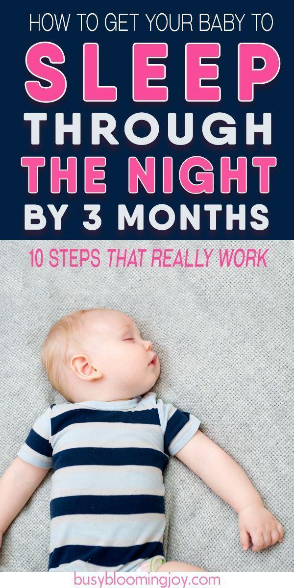 Stratégie en 10 étapes pour obliger votre bébé à dormir toute la nuit (d'ic…