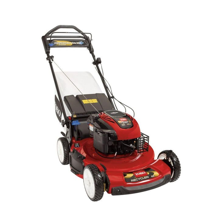 Toro Personal Pace Recycler 22 in. Variable Speed Self-Propelled Gas Lawn Mower with Blade Stop System