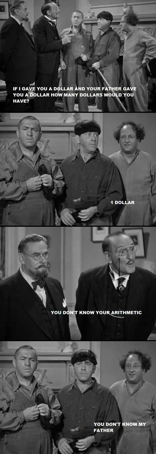 Some Three Stooges to lighten up your day. :)