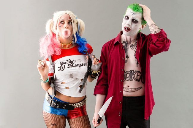 Suicide Squad Joker Halloween Costume.Best 32 Halloween Costume Ideas For Couples 2019 After Party