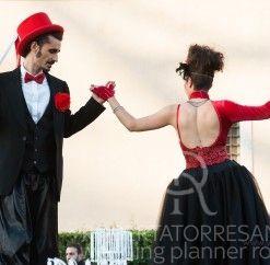 Matrimonio in rosso e nero ~ Roberta Torresan