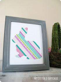 Masking tape's picture, Frame, Colors