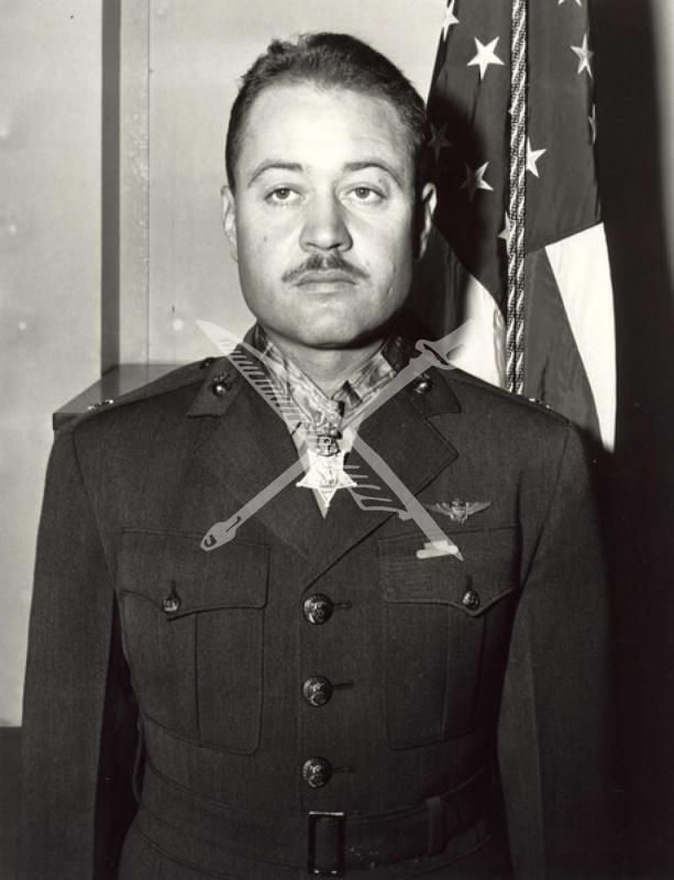 ... Colonel Gregory Pappy Boyington USMC. Medal of Honor Winner