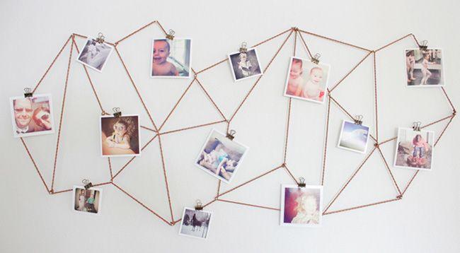 Op zoek naar leuke ideeën voor het ophangen van foto's, kunst en prints? Wij laten je zes manieren zien waar geen lijst aan te pas komt!