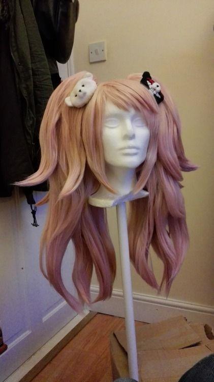 Junko Enoshima Wig Tutorial Cosplay Wig Tutorial Anime