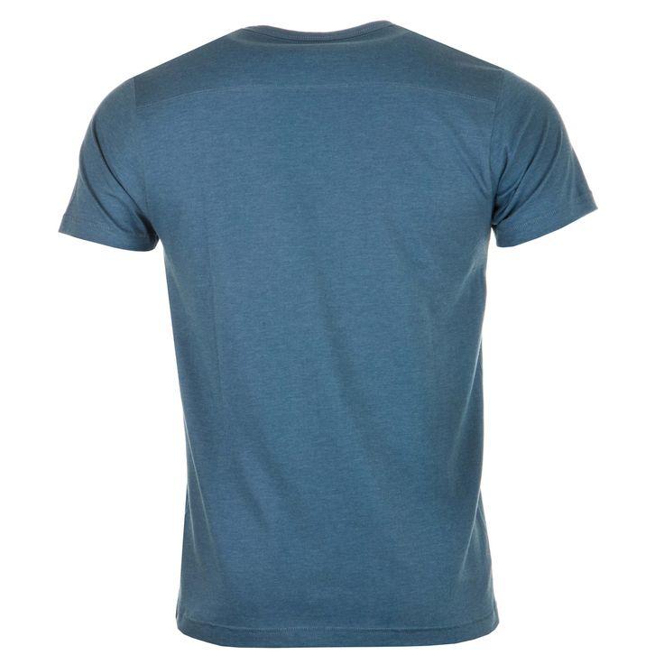 T-shirts &; Vests | Blue Marl Mens Core Crown Plain T-Shirt | Get The label