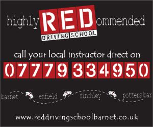 Driving School Banners - The best driving school ads for the best driving instructors. 300 x 250 Banner Example.