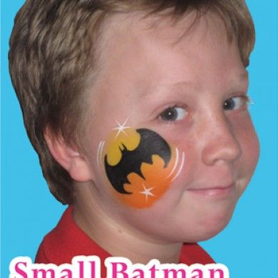 bat with moon halloween ideas superhero face painting batman face paint face painting for boys. Black Bedroom Furniture Sets. Home Design Ideas