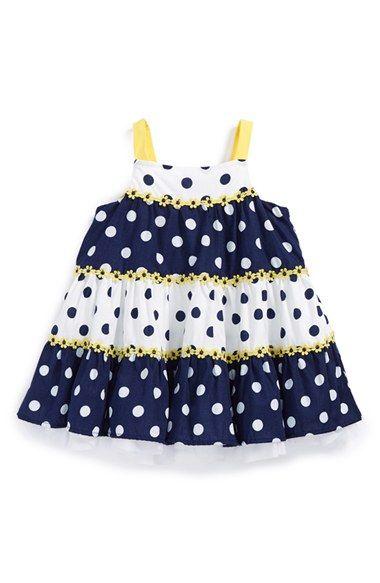 Little Me Sleeveless Sundress (Baby Girls) available at #Nordstrom