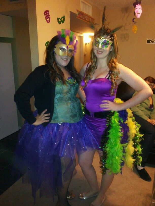 Homemade Costumes For Our Mardi Gras